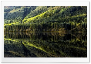 Reflections on Loch Chon HD Wide Wallpaper for 4K UHD Widescreen desktop & smartphone