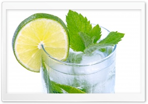 Refreshing Drink HD Wide Wallpaper for Widescreen
