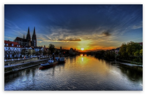 Regensburg Sunset HD wallpaper for Wide 16:10 5:3 Widescreen WHXGA WQXGA WUXGA WXGA WGA ; HD 16:9 High Definition WQHD QWXGA 1080p 900p 720p QHD nHD ; Standard 4:3 5:4 3:2 Fullscreen UXGA XGA SVGA QSXGA SXGA DVGA HVGA HQVGA devices ( Apple PowerBook G4 iPhone 4 3G 3GS iPod Touch ) ; Tablet 1:1 ; iPad 1/2/Mini ; Mobile 4:3 5:3 3:2 16:9 5:4 - UXGA XGA SVGA WGA DVGA HVGA HQVGA devices ( Apple PowerBook G4 iPhone 4 3G 3GS iPod Touch ) WQHD QWXGA 1080p 900p 720p QHD nHD QSXGA SXGA ; Dual 4:3 5:4 UXGA XGA SVGA QSXGA SXGA ;