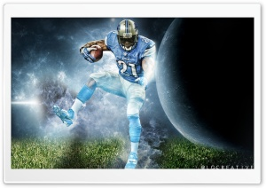 Reggie Bush Space HD Wide Wallpaper for Widescreen