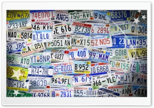 Registration Plates, Independence Day Ultra HD Wallpaper for 4K UHD Widescreen desktop, tablet & smartphone