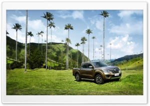 Renault Alaskan Pickup Truck HD Wide Wallpaper for Widescreen
