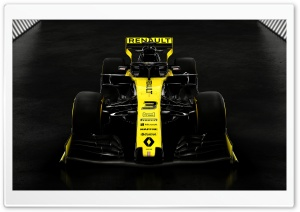 Renault F1 2019 HD Wide Wallpaper for 4K UHD Widescreen desktop & smartphone