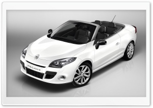 Renault Megane Convertible HD Wide Wallpaper for Widescreen