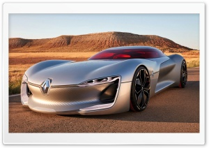 Renault Trezor Concept HD Wide Wallpaper for Widescreen
