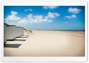 Renesse Beach HD Wide Wallpaper for Widescreen