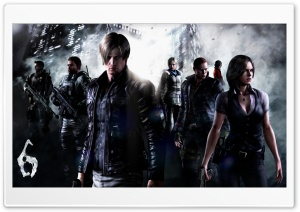 Resident Evil 6 HD Wide Wallpaper for Widescreen