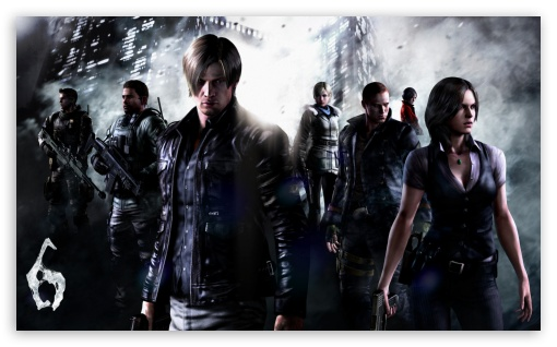Resident Evil 6 Ultra Hd Desktop Background Wallpaper For 4k Uhd