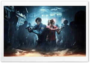Resident Evil 2 2019 Video Game HD Wide Wallpaper for 4K UHD Widescreen desktop & smartphone