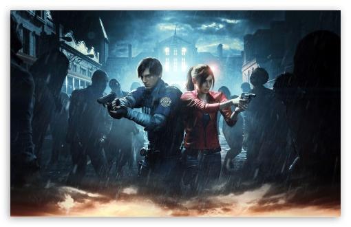Resident Evil 2 2019 Video Game ❤ 4K HD Desktop Wallpaper