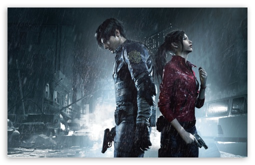 Resident Evil 2 2019 Ultra Hd Desktop Background Wallpaper For