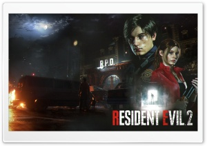 Resident Evil 2 E3 2018 HD Wide Wallpaper for 4K UHD Widescreen desktop & smartphone