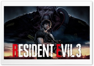 Resident Evil 3 Nemesis 2020 8K Carlos Ultra HD Wallpaper for 4K UHD Widescreen desktop, tablet & smartphone