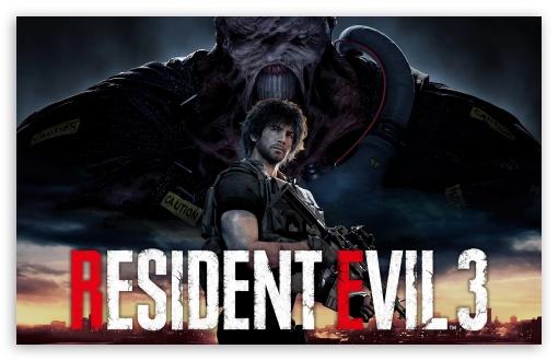 Resident Evil 3 Nemesis 2020 8k Carlos Ultra Hd Desktop Background