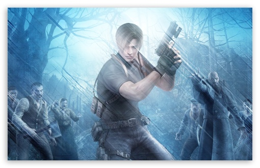 Resident Evil 4 Ultra Hd Desktop Background Wallpaper For