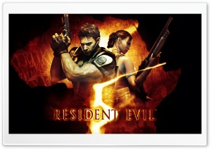 Resident Evil 5 HD Wide Wallpaper for 4K UHD Widescreen desktop & smartphone