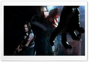 Resident Evil 6 (2012 Video Game) HD Wide Wallpaper for Widescreen