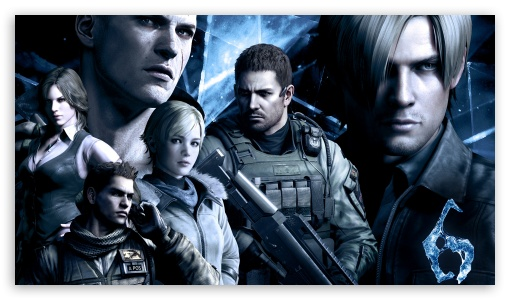 Resident Evil 6 Characters HD wallpaper for HD 16:9 High Definition WQHD QWXGA 1080p 900p 720p QHD nHD ; Tablet 1:1 ; iPad 1/2/Mini ; Mobile 4:3 16:9 - UXGA XGA SVGA WQHD QWXGA 1080p 900p 720p QHD nHD ;