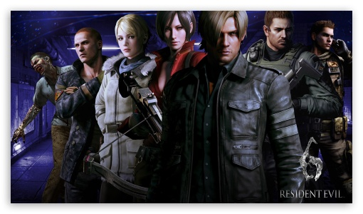 Resident Evil 6 Characters Ultra Hd Desktop Background Wallpaper