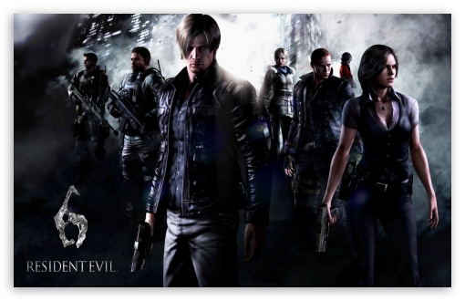 Resident Evil 6 Characters HD wallpaper for Wide 16:10 5:3 Widescreen WHXGA WQXGA WUXGA WXGA WGA ; HD 16:9 High Definition WQHD QWXGA 1080p 900p 720p QHD nHD ; Mobile 5:3 16:9 - WGA WQHD QWXGA 1080p 900p 720p QHD nHD ;