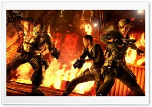 Resident Evil 6 Game HD Wide Wallpaper for Widescreen