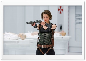 Resident Evil Afterlife HD Wide Wallpaper for Widescreen