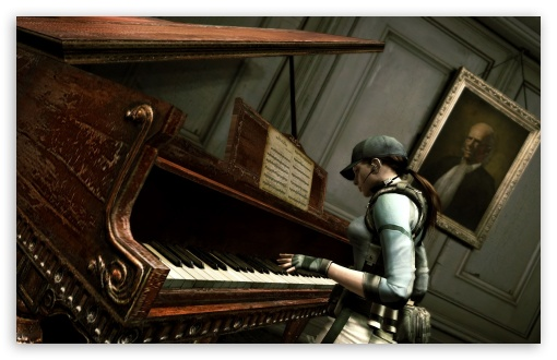 Resident Evil Jill Playing Piano HD wallpaper for Wide 16:10 5:3 Widescreen WHXGA WQXGA WUXGA WXGA WGA ; HD 16:9 High Definition WQHD QWXGA 1080p 900p 720p QHD nHD ; Standard 4:3 5:4 3:2 Fullscreen UXGA XGA SVGA QSXGA SXGA DVGA HVGA HQVGA devices ( Apple PowerBook G4 iPhone 4 3G 3GS iPod Touch ) ; Tablet 1:1 ; iPad 1/2/Mini ; Mobile 4:3 5:3 3:2 16:9 5:4 - UXGA XGA SVGA WGA DVGA HVGA HQVGA devices ( Apple PowerBook G4 iPhone 4 3G 3GS iPod Touch ) WQHD QWXGA 1080p 900p 720p QHD nHD QSXGA SXGA ; Dual 5:4 QSXGA SXGA ;