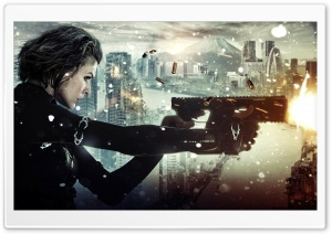 Resident Evil Retribution HD Wide Wallpaper for 4K UHD Widescreen desktop & smartphone