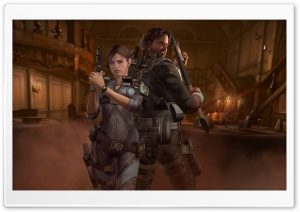 Resident Evil Revelations HD Wide Wallpaper for Widescreen