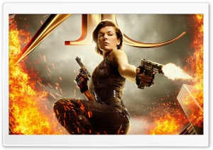 Resident Evil The Final Chapter HD Wide Wallpaper for Widescreen