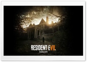 Resident Evil VII Biohazard HD Wide Wallpaper for Widescreen