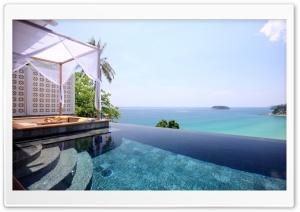 Resort Pool HD Wide Wallpaper for Widescreen