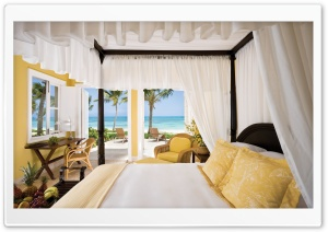 Resort Room HD Wide Wallpaper for Widescreen