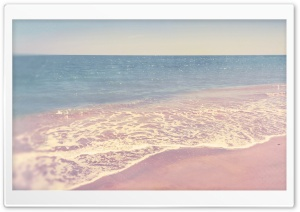 Retro Beach HD Wide Wallpaper for Widescreen