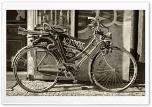 Retro Bicycle HD Wide Wallpaper for Widescreen