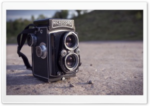Retro Camera HD Wide Wallpaper for Widescreen