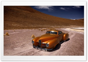 Retro Car HD Wide Wallpaper for Widescreen