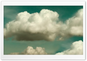 Retro Clouds HD Wide Wallpaper for Widescreen
