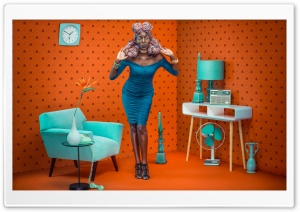 Retro Style HD Wide Wallpaper for 4K UHD Widescreen desktop & smartphone