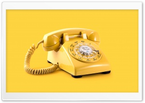 Retro Telephone Aesthetic Ultra HD Wallpaper for 4K UHD Widescreen desktop, tablet & smartphone