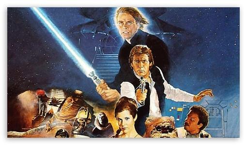 Return Of The Jedi Ultra Hd Desktop Background Wallpaper For