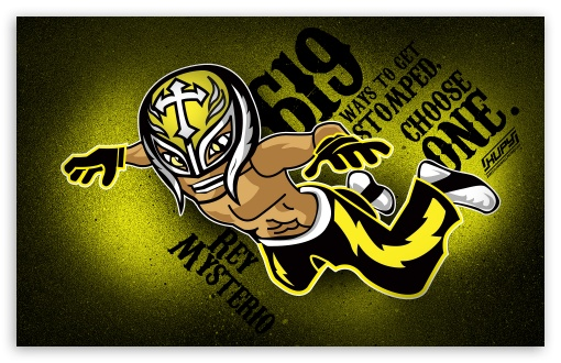 Rey Mysterio HD wallpaper for Wide 16:10 5:3 Widescreen WHXGA WQXGA WUXGA WXGA WGA ; Standard 3:2 Fullscreen DVGA HVGA HQVGA devices ( Apple PowerBook G4 iPhone 4 3G 3GS iPod Touch ) ; Mobile 5:3 3:2 - WGA DVGA HVGA HQVGA devices ( Apple PowerBook G4 iPhone 4 3G 3GS iPod Touch ) ;