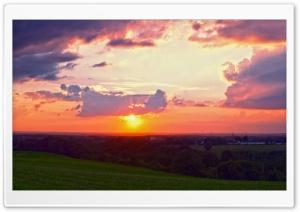 Rheinland, Sunset, Landscape Ultra HD Wallpaper for 4K UHD Widescreen desktop, tablet & smartphone