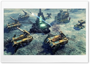 Rhino Tanks - Command  Conquer 4 Tiberian Twilight HD Wide Wallpaper for Widescreen