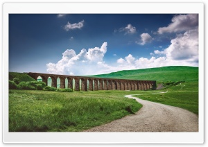 Ribblehead Viaduct Harry Potter HD Wide Wallpaper for 4K UHD Widescreen desktop & smartphone