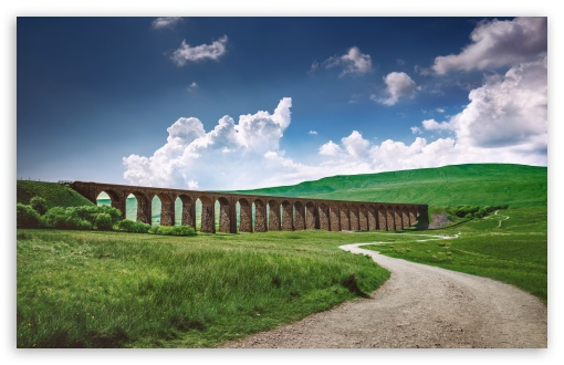 Download Ribblehead Viaduct Harry Potter HD Wallpaper