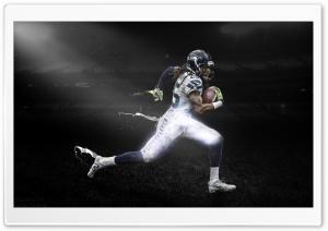 Richard Sherman Dark Stadium HD Wide Wallpaper for Widescreen