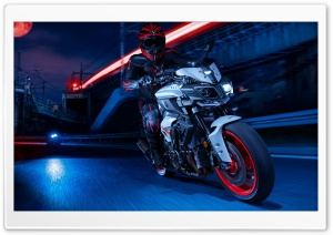 Riding Motorcycle Ultra HD Wallpaper for 4K UHD Widescreen desktop, tablet & smartphone