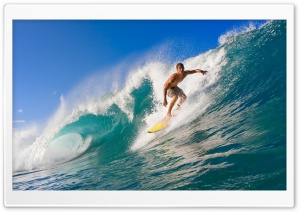 Riding The Wave HD Wide Wallpaper for Widescreen