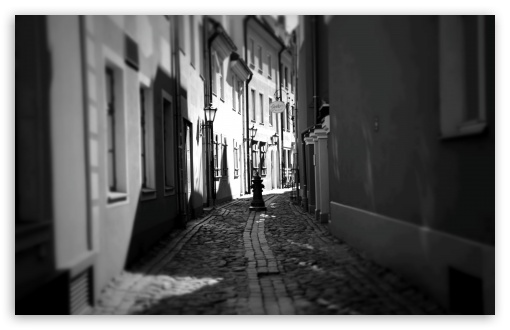 Download riga street hd wallpaper